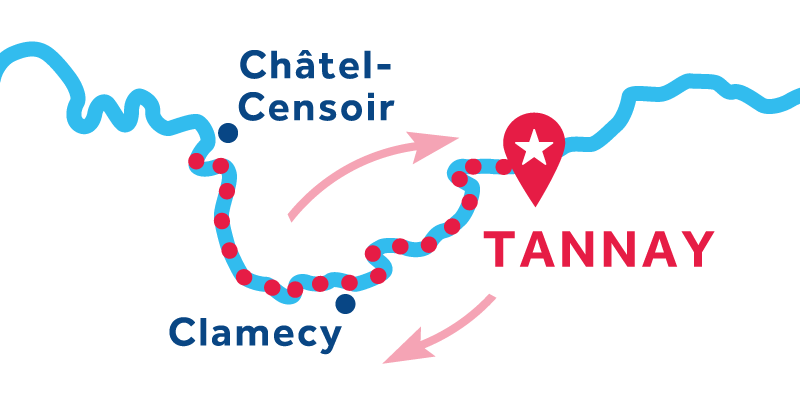 Tannay RETURN via Châtel Censoir