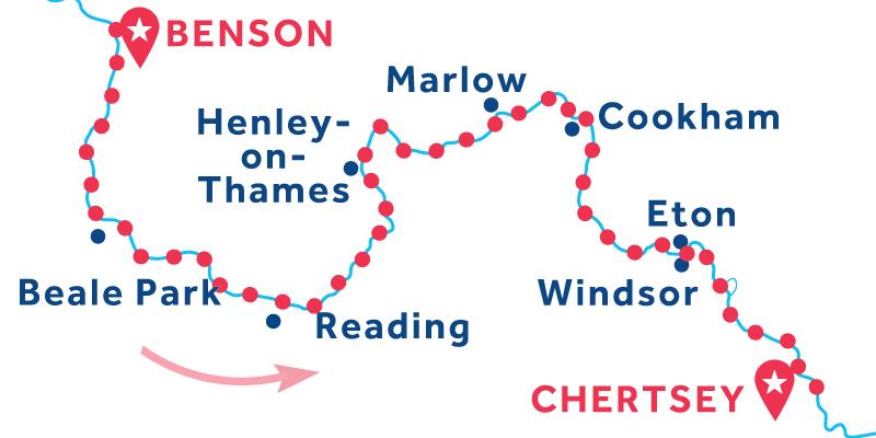 Benson to Chertsey