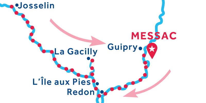 Messac RETURN via Josselin