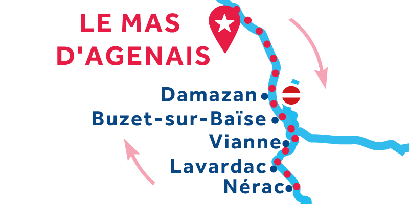 Le Mas-d'Agenais RETURN via Nérac