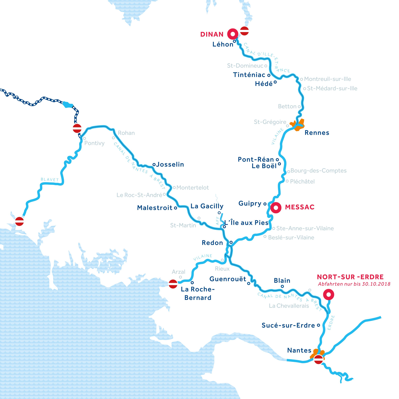 Karte: Bretagne