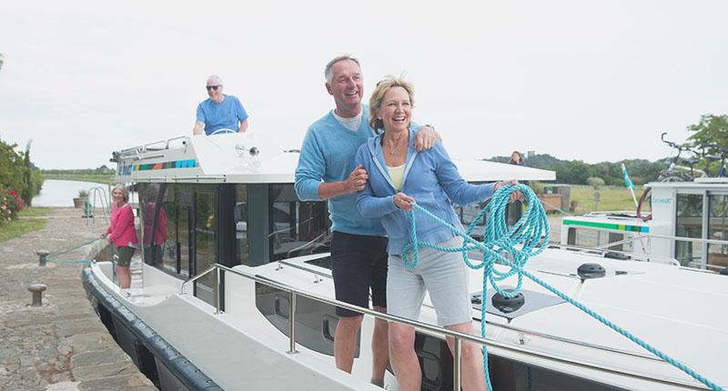 Le Boat Canal du Midi Ehepaar