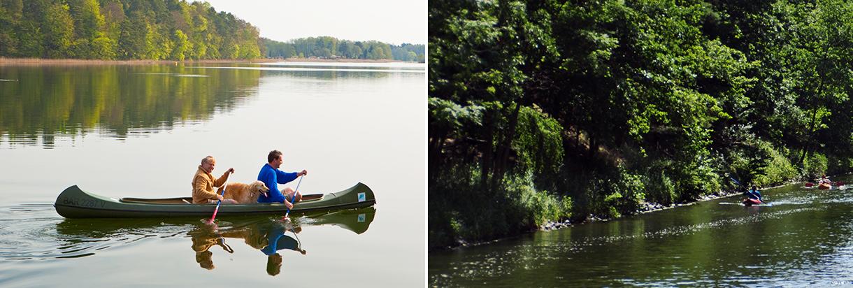Kanu Mecklenburgische Seenplatte