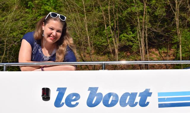 Jenny an Bord