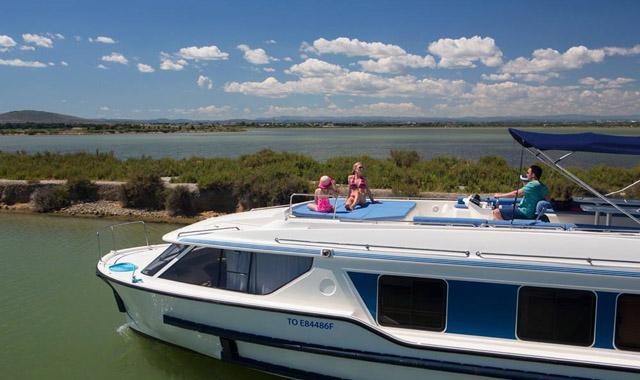 Das Sonnendeck unserer Vision-Boote