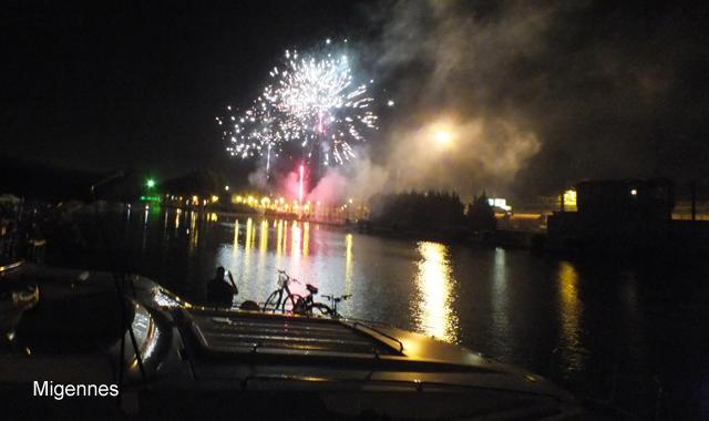 Feuerwerk Migennes