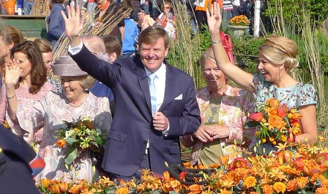 Holland_Königstag_Königsfamilie
