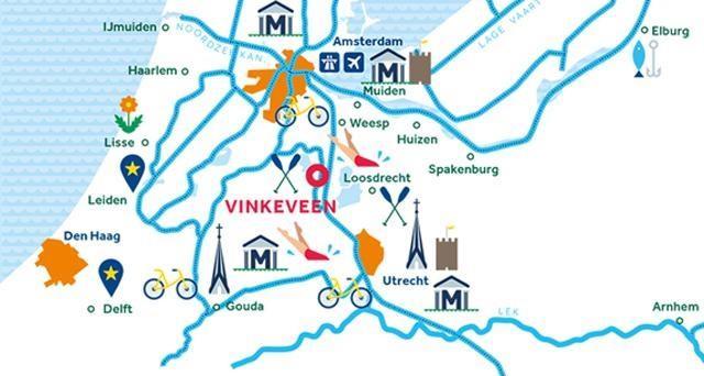 Routen Niederlande