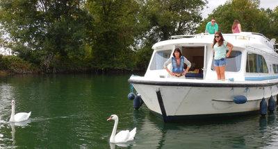 Der Fluss Charente ist ein Geheimtipp