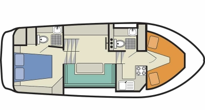 Deckplan der Countess