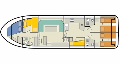 Deckplan der Grand Classique
