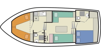 Deckplan der Lake Star