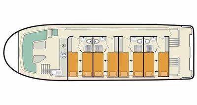 Deckplan der Vision 4 SL