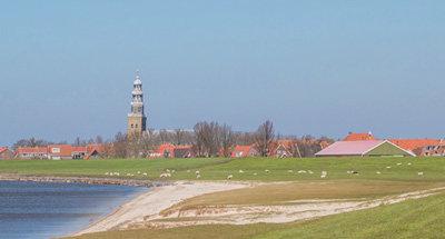 Boote und Seen in den Niederlanden