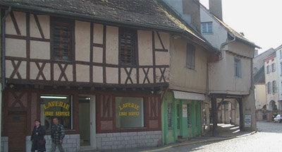 Fachwerkhäuser im Burgund