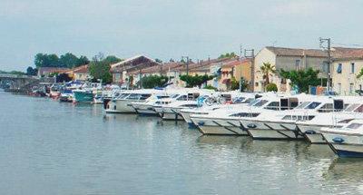 Le Boat Basis in der Camargue