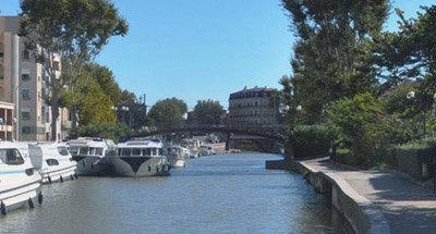 Hausboot Vision auf dem Canal du Midi