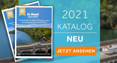 Sehen Sie sich den Le Boat Katalog 2021 an!
