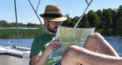Navigationshilfen um Ihre Route zu planen