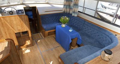 Salon des Hausbootes Classique von Le Boat