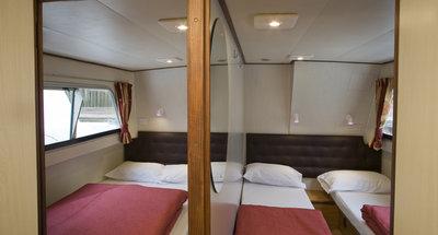 Kabinen des Hausbootes Continentale von Le Boat