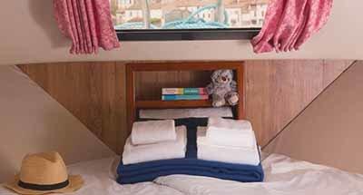 Kabinen & Badezimmer der Continentale