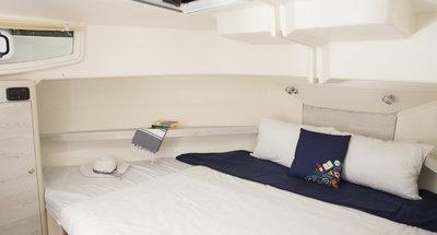 Bugkabine des Hausbootes Horizon 3 von Le Boat