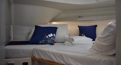 Bugkabine des Hausbootes Horizon 5 von Le Boat