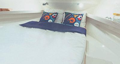 Kabinen & Badezimmer der Horizon 1