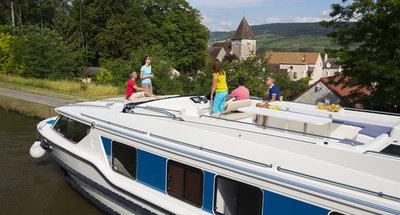 Hausboot Vision von Le Boat im Burgund