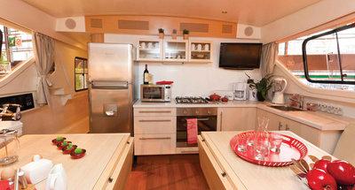 Salon des Hausbootes Vision 4 von Le Boat