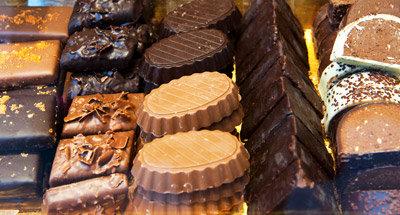 Leckere Belgische Schokolade