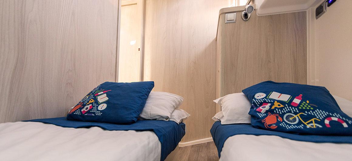 Horizon 1 - side cabin