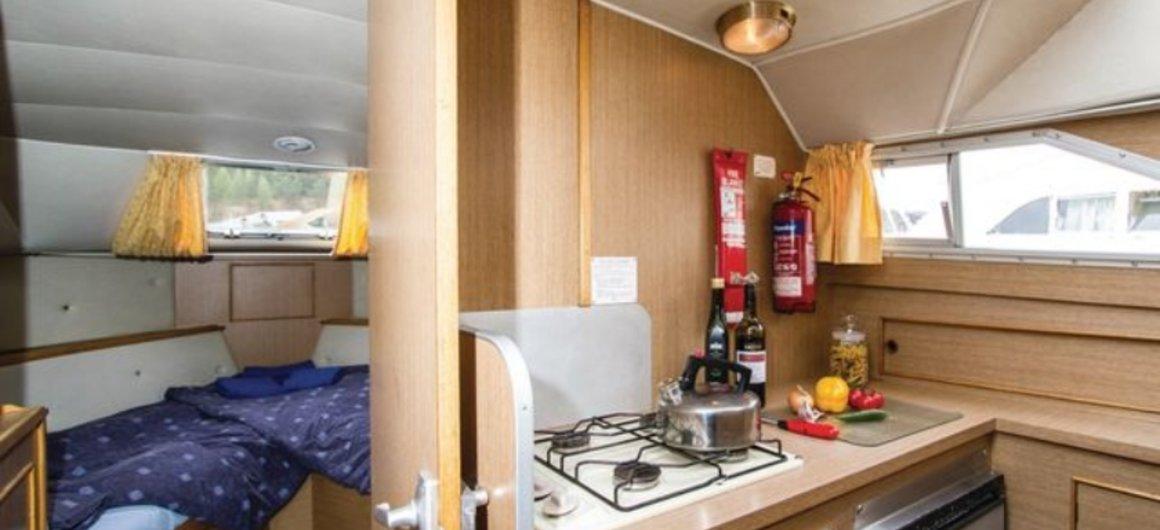 Braemore WHS - Küche und fordere Kabine