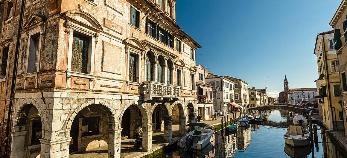 Küstenstadt Chioggia