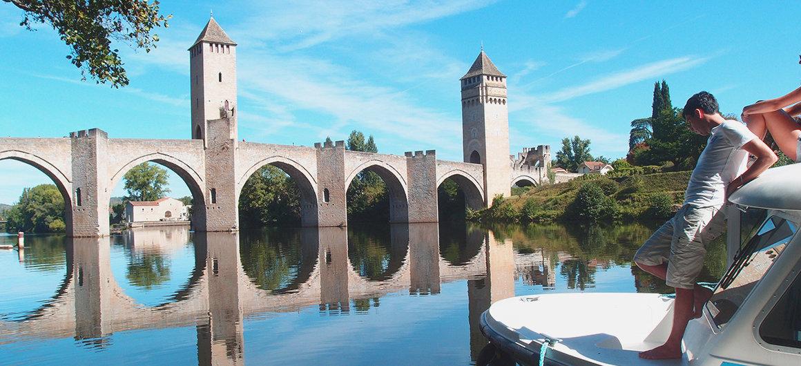 Pont Valentré am Lot