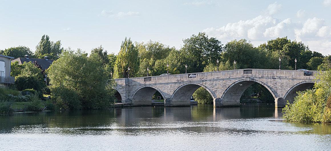 Brücke bei Windsor, Themse