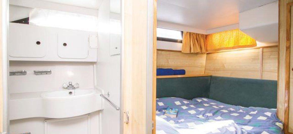 Royal Star WHS - hintere Kabine mit Doppelbett