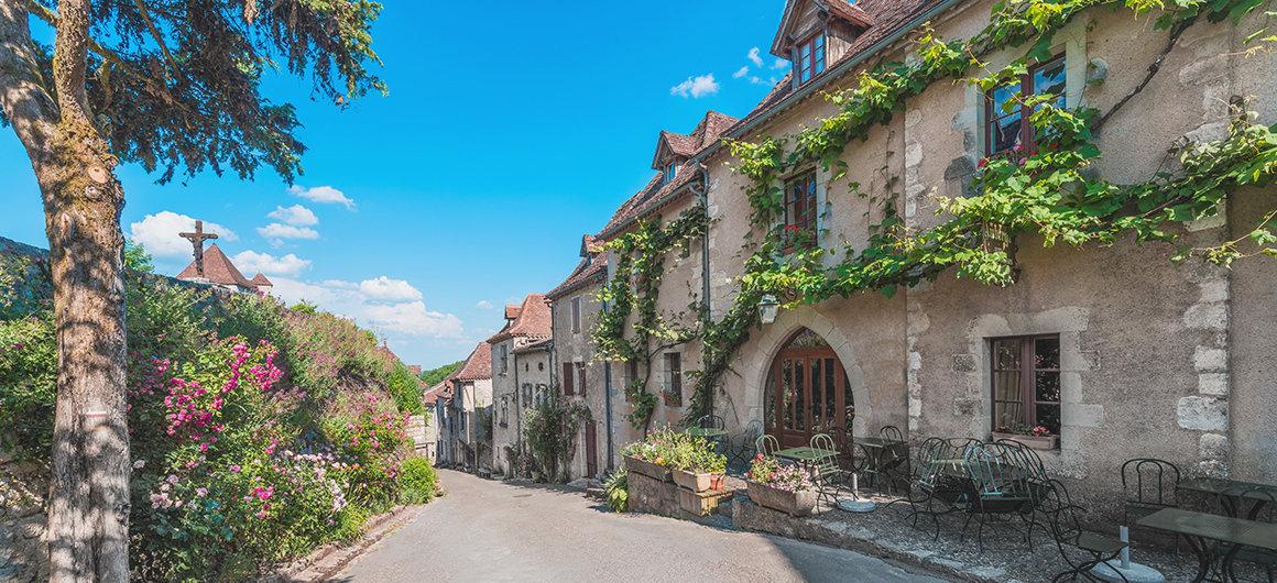 Saint-Cirq-Lapopie am Lot