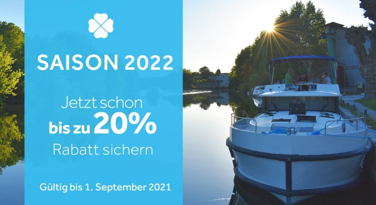 Jetzt schon an Bootsferien 2022 denken