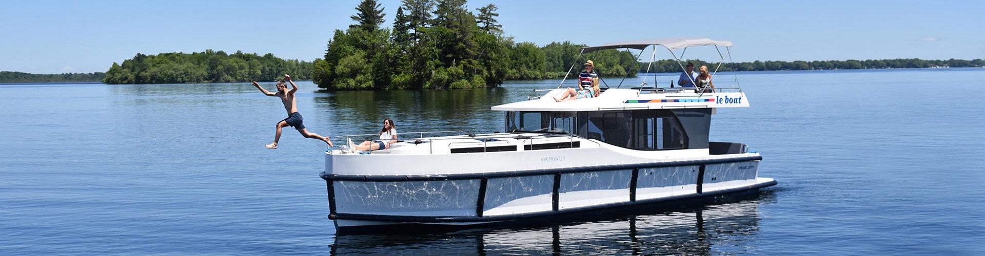 Boating in Canada