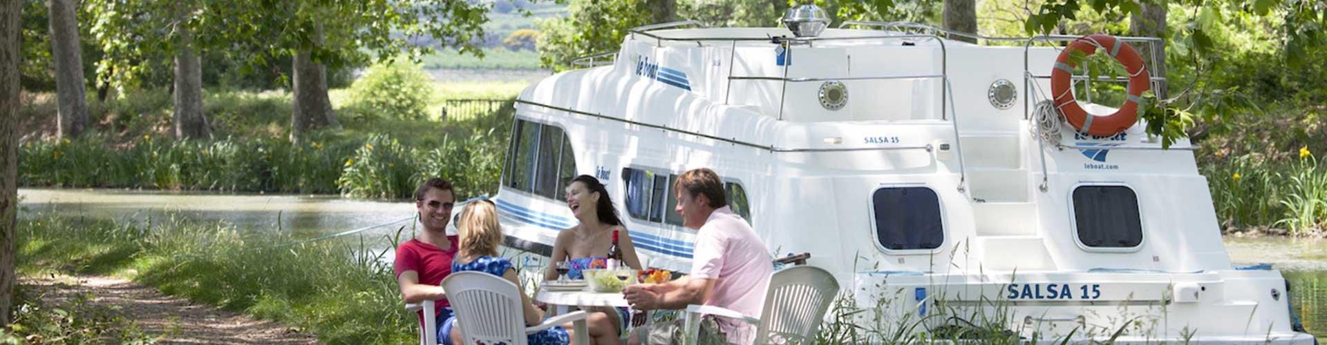 Gastronomie am Canal du Midi