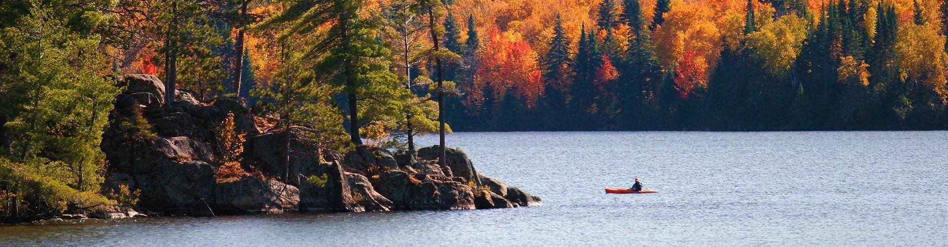 Herbst in Kanada - bunte Blätter