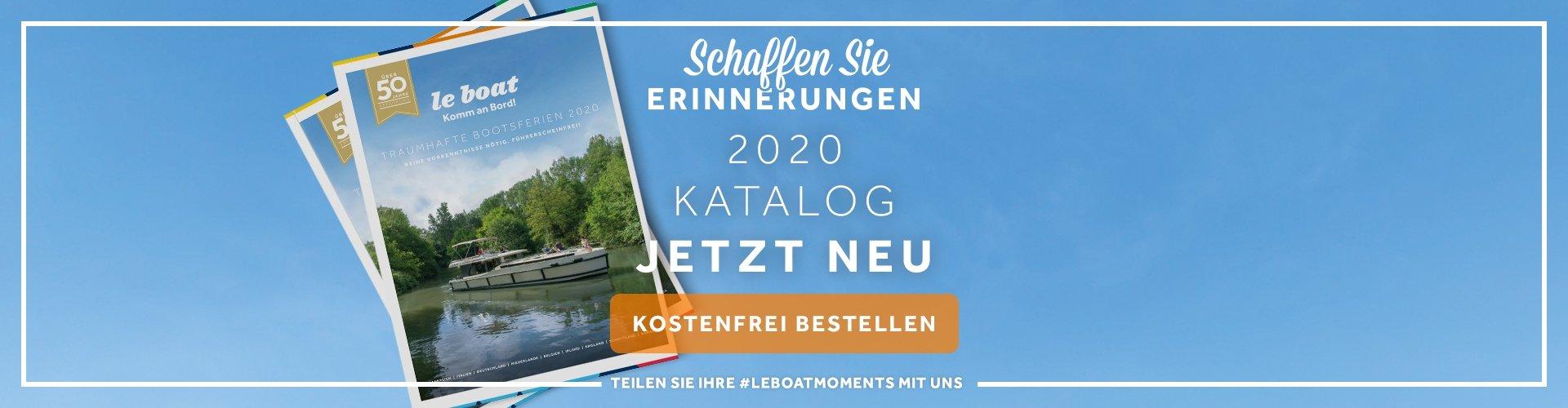 Le Boat Hausbootferien Katalog 2020