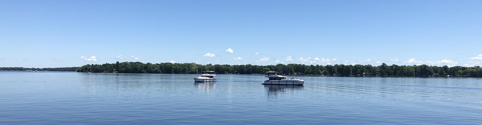 Premier Hausboote von Le Boat