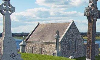 Grabsteine in Clonmacnoise