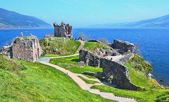 Urquhart Castle in Drumnadrochit